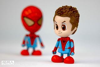 Hot Toys - 蜘蛛人:驚奇再起Cosbaby 限定版開箱報告