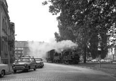 99 1568-7 and  leaving Oschatz on a freight (RhinopeteT) Tags: germany steam east oschatz mugeln