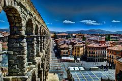 The Aqueduct in Segovia (harryrhysdavies) Tags: spain espana segovia