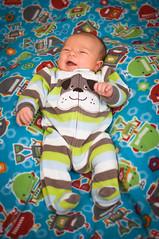 Playing on the bed! (Jeff_Bernard) Tags: baby cute smiling colin laughing bestof newborn firstmonthoflife
