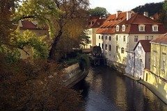 The Water Mill Prague on Kampa Island (donachadhu) Tags: prague czechrepublic vltava watermill theworldoftravel certovkamlyn certovkatributary devilswatermill