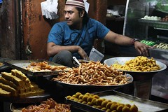 Food of Delhi (Mayank Austen Soofi) Tags: boy food man shop delhi walla mithai halwai