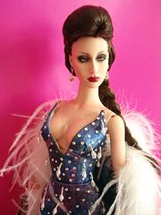Supernova (Nina-chan) Tags: doll dress supernova gown couture sybarite superdoll fidele fashionbeyondreason pfdf parisfashiondollfestival
