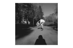 eric & manu (Niko Saarinen) Tags: summer blackandwhite bw dog sun hot monochrome sunshine suomi finland square warm longboard fujifilm kouvola longboarding xe2 visitfinland fujinon18mm fujixmonochrome visitkouvola fujifilmxmonochrome
