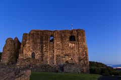Dundonald Castle (Rossco156433) Tags: morning light sky cloud castle history nature night outdoors scotland fort ruin nightime ayrshire dundonald southayrshire