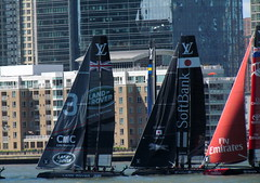 America's Cup Day 2 (quiggyt4) Tags: ocean nyc newyorkcity newzealand newyork france sports water japan race boat oracle newjersey jerseycity sailing waterfront yacht britain manhattan worldtradecenter omega nj racing emirates boating bmw sail hudsonriver wtc bermuda colgate donaldtrump trump landrover americascup hoboken softbank lv espn louisvuitton ronpaul goldmansachs teamusa ows teamfrance occupy brookfieldplace occupywallstreet nbcsn
