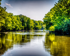 Down the River (that_damn_duck) Tags: southcarolina unitedstates river water nature reflections waterreflections nikon