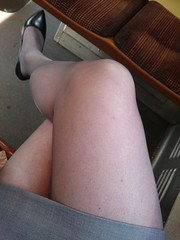 Todays color is gray.  #pantyhose (magdalena_m) Tags: pantyhose