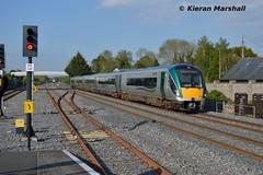 22037 passes Hazelhatch and Celbridge, 16/5/16 (hurricanemk1c) Tags: irish train rail railway trains hatch railways irishrail rok rotem 2016 icr iarnrd 22000 22037 ireann iarnrdireann premierclass 5pce 1815heustonwestport hazelhatchandcelbridge