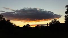 Cloud over Belgrade (danica_85) Tags: sunset sky cloud nature clouds outdoor dusk