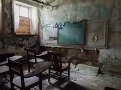 shoot film BLINDED. (richelle forsey) Tags: crayola sundayschool abandonedchurch shootfilm buffalonewyork nothingisordinary exploreeverything
