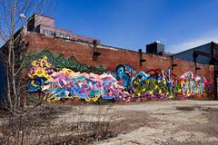 graff wall (nicknormal) Tags: streetart newyork graffiti us mural unitedstates longislandcity sentinel
