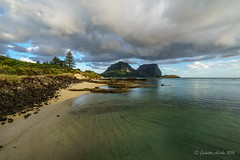 Afternoon clouds on Lord Howe Island (NettyA) Tags: sunset beach water clouds sand rocks mood dramatic australia nsw day7 unescoworldheritage atmospheric lordhoweisland thelagoon 2016 lhi mtgower mtlidgbird sonya7r janetteasche lordhoweforclimate
