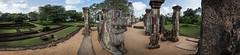 Palace Complex of King Nishshanka Malla Panorama (::darren::) Tags: trees panorama reflection hall audience outdoor palace sri lanka monastery remains malla 360 polonnaruwa nissanka