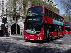 London bus route 1 Volvo B7TL Eclipse Gemini (MyParadiseLost) Tags: wright tfl londongeneral goahead vwl42 bx04bkl