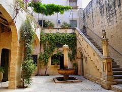 streets, alleys and courtyards in Mdina, Malta (jackfre2) Tags: city buildings mediterranean malta courtyards alleys mdina cityofmdina