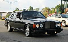 Bentley Turbo R (SPV Automotive) Tags: black sports car sedan exotic turbo r bentley