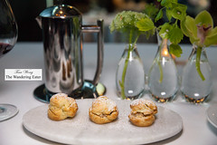 Hazelnut profilteroles (thewanderingeater) Tags: atlanta dinner georgia buckhead finedining restauranteugene
