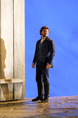 Vittorio Griglo as Werther in Werther, Royal Opera House  2016 ROH. Photograph by Bill Cooper (Royal Opera House Covent Garden) Tags: werther production productionphoto bybenotjacquot theroyalopera actionshot vittoriogriglo