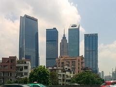 新城·旧村2/New City vs Old Village II (KAMEERU) Tags: guangzhou new town skyscrapers zhujiang xiancun