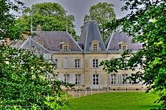 Chateau de Tirancourt (roland dumont-renard) Tags: eau rivire chteau faade samara picardie fleuve rivage rive somme chemindehalage lachaussetirancourt tirancourt