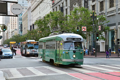 MUNI F Line #1053 (Jim Strain) Tags: jmstrain muni pcc streetcar trolley tram railway train california sanfrancisco