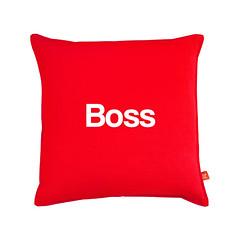 boss cushion (rethinkthingsltd) Tags: birthday christmas boss baby home kitchen up liverpool ma design tshirt parry livingroom made card sound mug greetings decor coaster cushion greeting madeup yerma yer scouser ilsa babygrow eeee laffin chocka jarg typograhic arlarse rethinkthings geggin gegginin