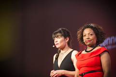 Talks TEDxRennes 2016 Betty Soret Germaine Murzeau
