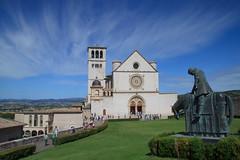 Assisi. (coloreda24) Tags: italy canon europa europe italia perugia assisi umbria basilicadisanfrancesco 2015 canonefs1785mmf456isusm canoneos500d