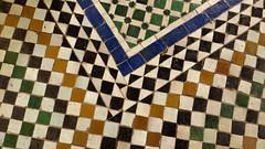 Zellij Tile 11 (macloo) Tags: geometric architecture tile design morocco moorish marrakech decor zellij bahiapalace