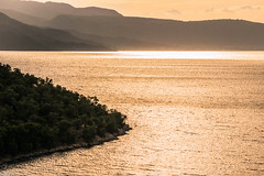 The Gulf at sunset (Siminis) Tags: sunset sea seascape aegean greece sunsetlight seashore gera mytilene aegeansea sunsettime gulfofgera siminis
