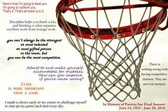 Grateful for Iconic Women (Kristen Fletcher Photography) Tags: basketball inmemoryof patsummitt fletcherghghnov2014