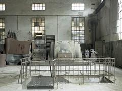 Turbine (soho42) Tags: abandoned industry film industrial decay urbanexploration powerplant turbine urbex mamiya645protl kodakportapro400