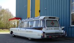 1960 Cadillac (Fleetwood) 6029E Ambulance (peterolthof) Tags: assen bt6246 cadillac 6029e fleetwood peterolthof