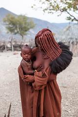 Mother and Child 3918 (Ursula in Aus - Away) Tags: otjomazeva namibia himba africa environmentalportrait