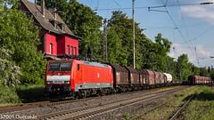 189 053 EZ 45722 to Kijfhoek at Ratingen Lintorf (37001 overseas) Tags: ratingen ratingenlintorf lintorf class189 189053 ez 45722 gremberg kijfhoek shimmns rail cargo austria wascosa 1890532