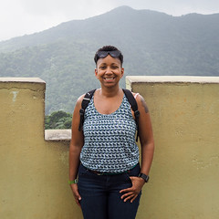 Up high on a tower in El Yunque! (robynmichelle79) Tags: tower rainforest puertorico robyn elyunque