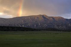 Browns Canyon (Jeff Mitton) Tags: mountains landscape rainbow colorado canyon wondersofnature earthnaturelife brownscanyonnationalmonument
