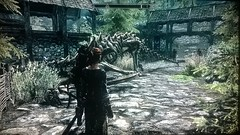 Ataque de Drages duplos em Falkreath Skyrim (Lucknyu) Tags: falkreath skyrim lenneth drago dragon ataque xbox360 duplo