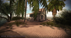 New 3D Ground Texture - Beach Sand - Pure Dunes (Vita Camino) Tags: summer terrain texture beach 3d high sand camino ground sl secondlife resolution hd sim builder vita giardini 2016