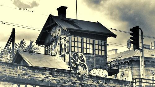 Drážní domek v Karlíně