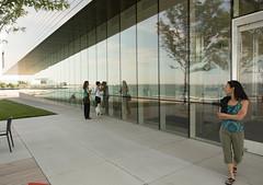 Milwaukee (TWITA2005) Tags: reflection wisconsin us unitedstates milwaukeeartmuseum milwaukee