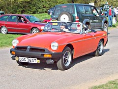 247 MG B Mk.III Roadster (black) (1979) (robertknight16) Tags: mg british 1970s 1980s bmc