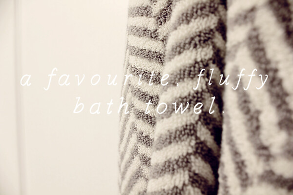Fluffy Bath Towel
