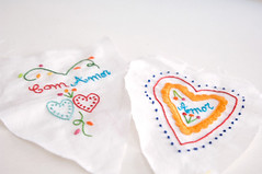 embroidery wip (PinkNounou) Tags: heart embroidery coraes embroidered artesana fabrics bordado fattoamano artesanatourbano bordadomo bonecosdeautor embroideredbyhand crationartisanale pinknounou fabriqulamain