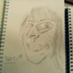 Nat sketch (pepemczolz) Tags: cameraphone portrait abstract love beautiful pencil sketch nat galaxy caricature rough s2 flickroid