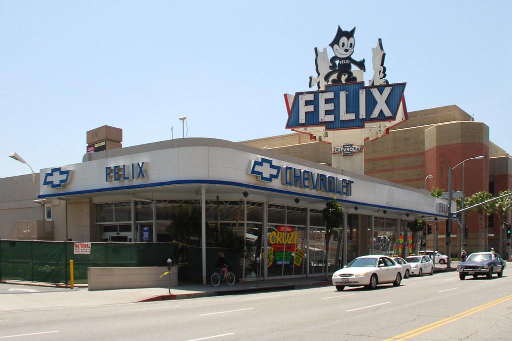 Felix Chevrolet (So Cal Metro) Tags: Auto Sign La Losangeles Automobile  Felix Figueroa