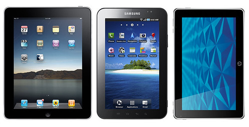 Apple Samsung HP Tablets