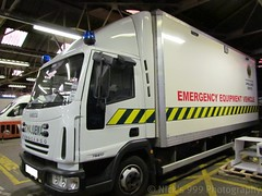 NIAS / Iveco Cargo / Emergency Equipment Vehicle (Nick 999) Tags: blue white training truck lights call exercise cargo ambulance equipment lorry vehicle leds beacons emergency rare iveco 999 nias eev northernirelandambulanceservice