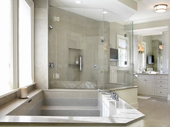 "Master Bath with Custom Stone tub • <a style=""font-size:0.8em;"" href=""http://www.flickr.com/photos/75603962@N08/7048334853/"" target=""_blank"">View on Flickr</a>"